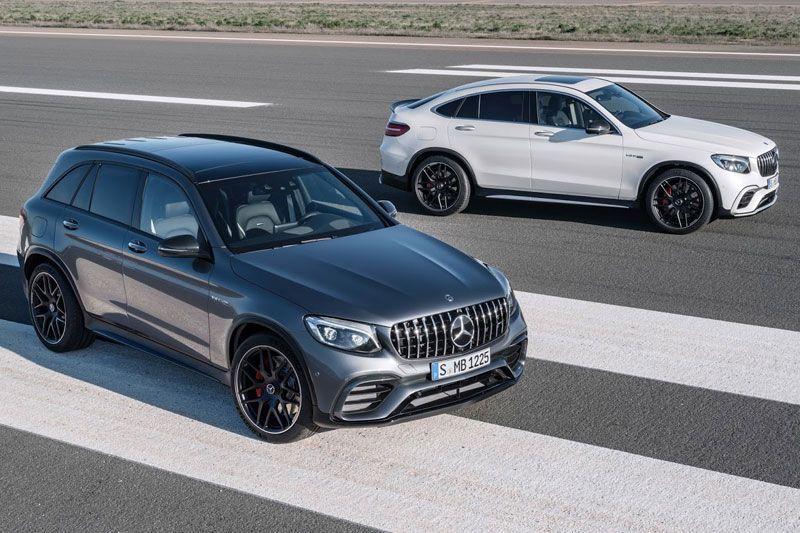 New Mercedes-AMG GLC63 dan GLC63 Coupe