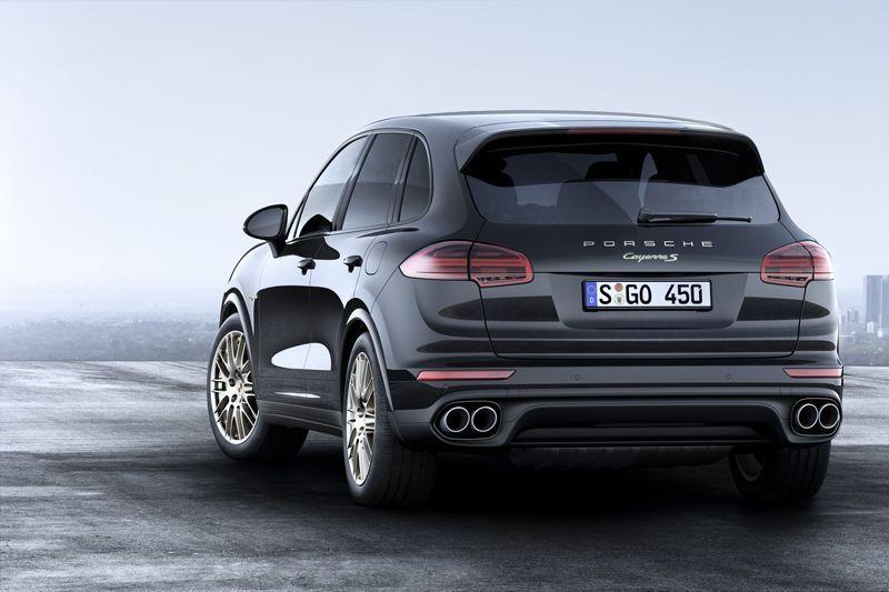 Porsche Cayenne Edisi Platinum