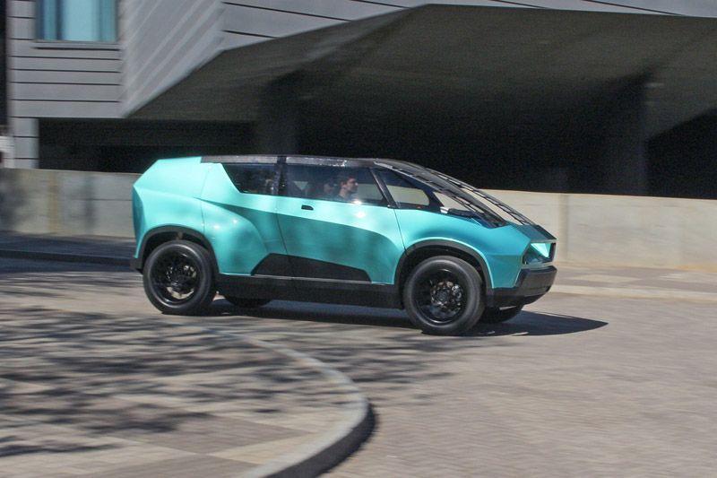 Toyota uBox Concept menggunakan motor listrik