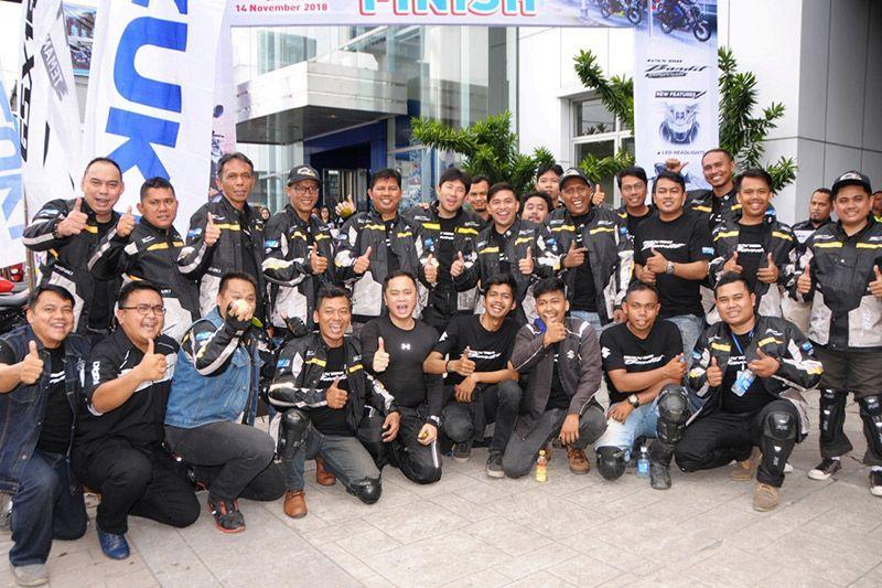 Touring Suzuki GSX 150 Bandit Pekanbaru-Padang.