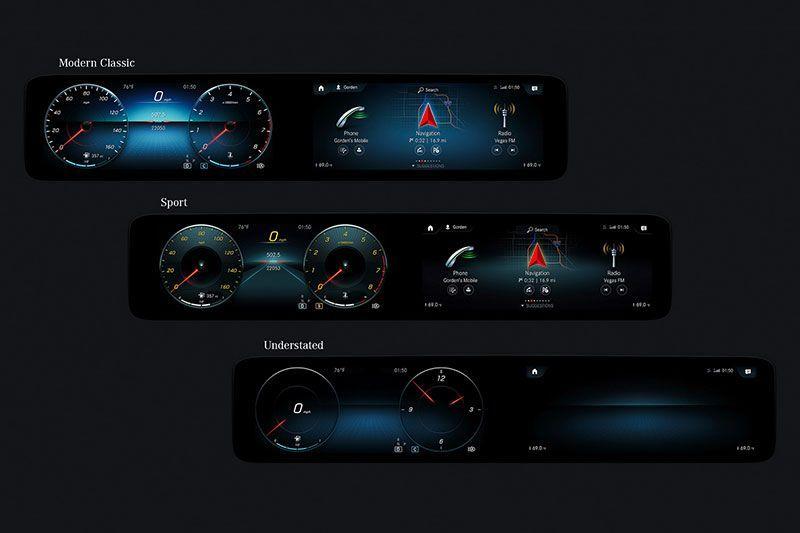 New Mercedes MBUX