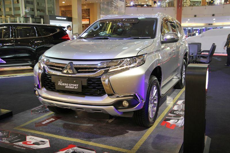 Mitsubishi Pajero Sport Exceed dan GLX Dirakit Lokal