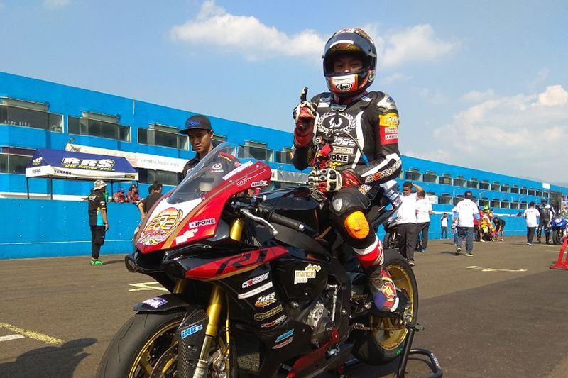 Eric Saputra Yamaha Sunday Race Seri 2 2018