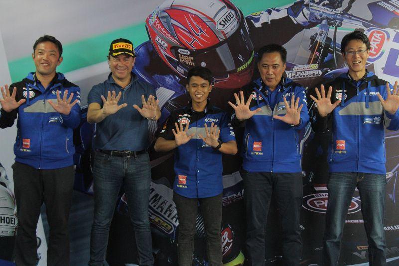 Galang Hendra World Supersport 300 2018 Yamaha Indonesia