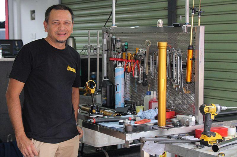 Eddy Saputra Ohlins Indonesia ARRC Sentul