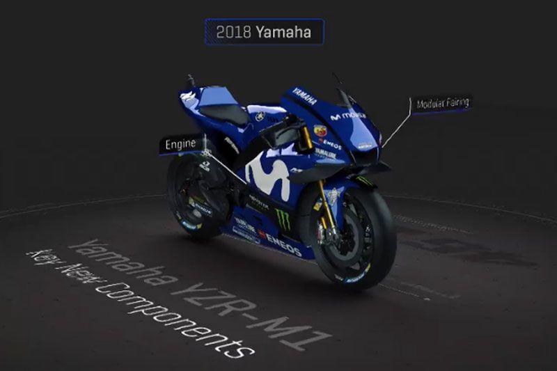 Yamaha YZR-M1 Movistar Yamaha MotoGP 2018