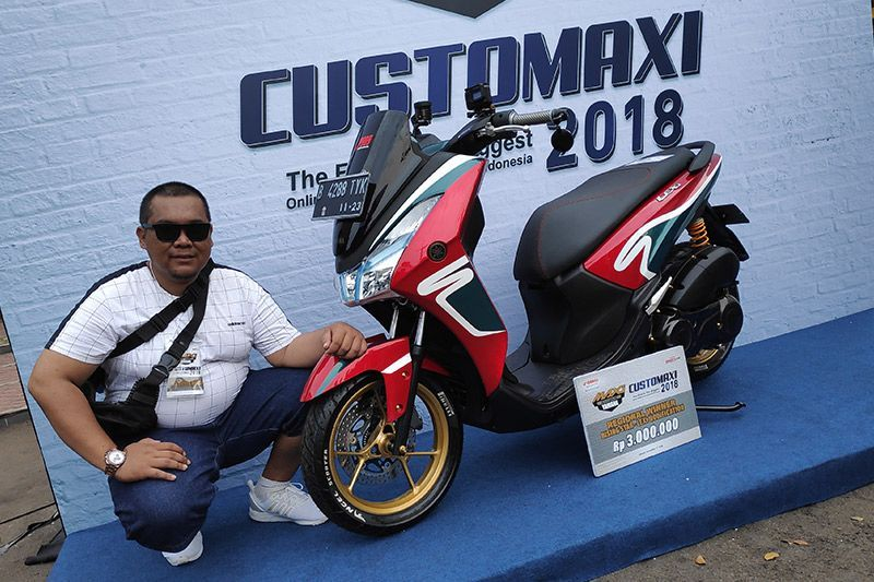 Modifikasi Yamaha Lexi CustoMAXI 2018