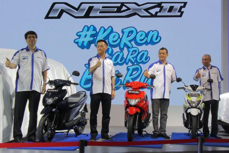 Suzuki Nex II Diperkenalkan di IIMS 2018