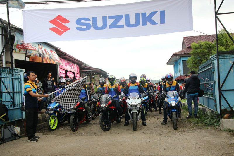Suzuki Bike Meet 2017 di Cibodas