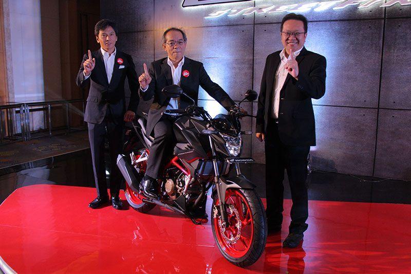 new Honda CB150 StreetFire 2018