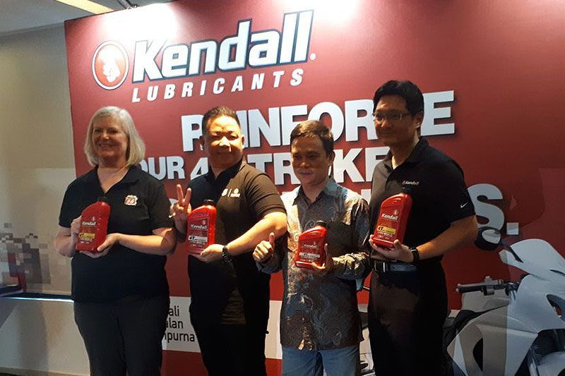 Kendall Motorcycle Oil Indonesia 2018