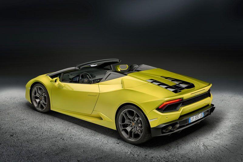 Lamborghini Huracan Spyder RWD LP580-2