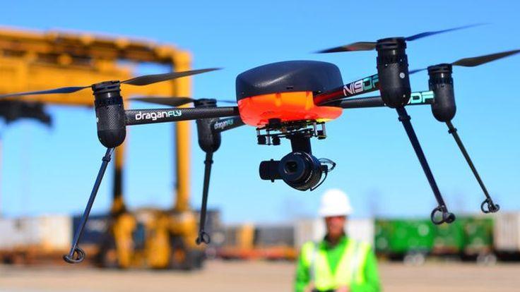 Draganfly Ciptakan Drone Pendeteksi Corona