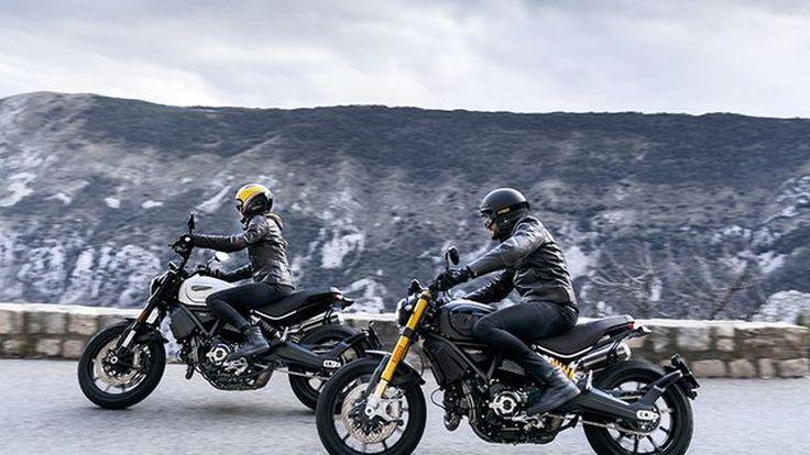 Ducati Scrambler 1100 Pro dan Sport Pro Lebih Maskulin