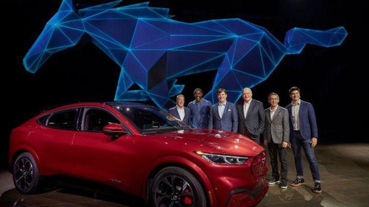 Ford Mustang Mach-E 2020, SUV Bertenaga Listrik