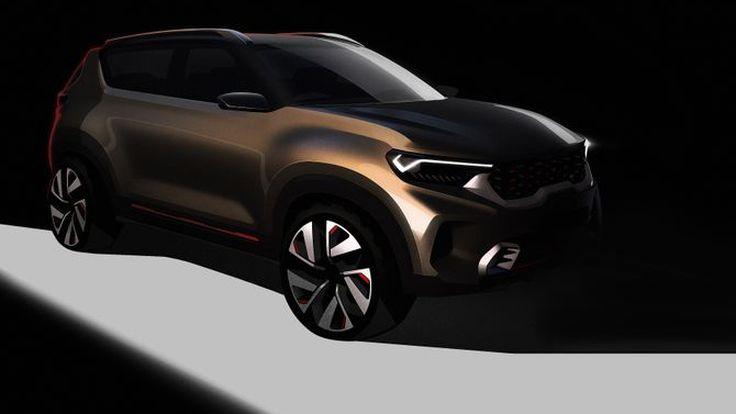 Kia Motors Bocorkan Desain Compact SUV