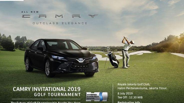 Toyota Siap Gelar Kejuaraan Golf Berhadiah Camry dan C-HR Hybrid