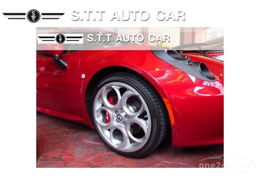 2015 Alfa Romeo 4C Coupe Coupe