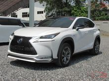 2017 Lexus NX300h F SPORT 2.5 AT SUV