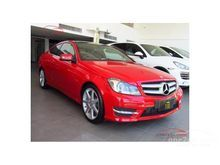 2016 Mercedes-Benz C250 BlueEFFICIENCY W204 (ปี 08-14) Sport 1.8 AT Coupe