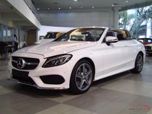 2017 Mercedes-Benz C300 AMG  Dynamic 2.0 AT Cabriolet