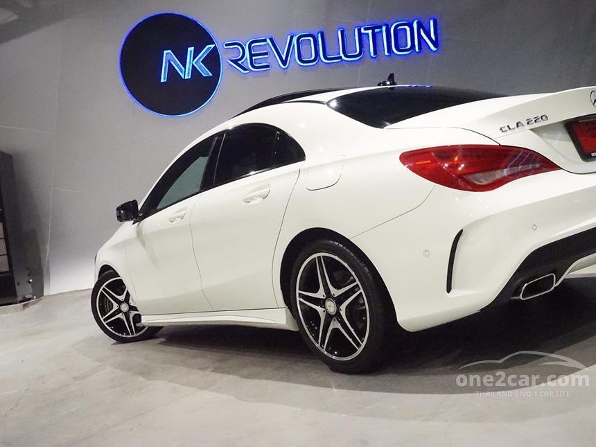 2015 Mercedes-Benz CLA220 CDI Sedan