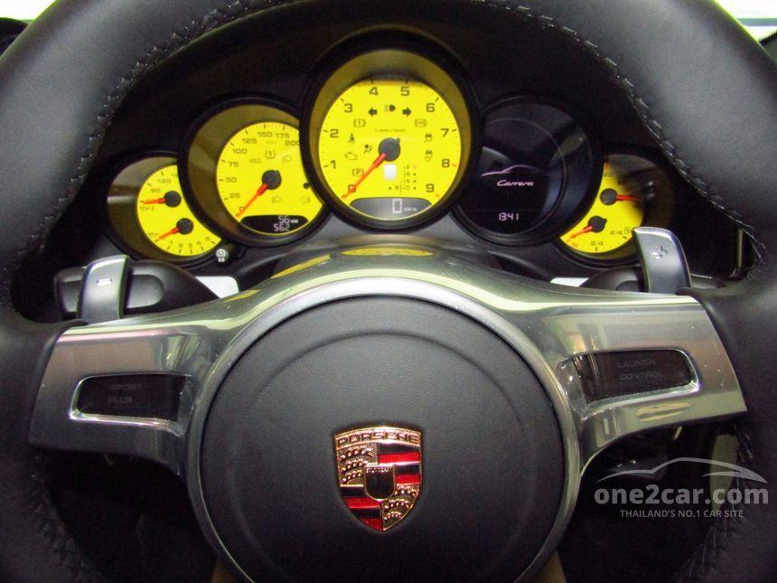 2016 Porsche 911 Carrera Black Edition Coupe