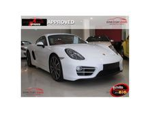 2014 Porsche Cayman 981 PDK 2.7 AT Coupe