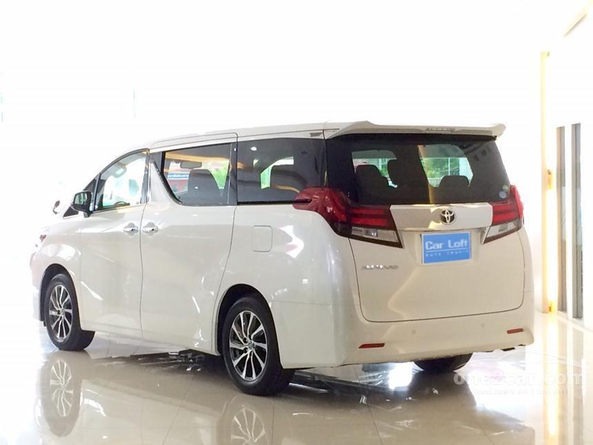 2016 Toyota Alphard G Van