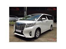 2017 Toyota Alphard (ปี 15-18) HYBRID E-Four 2.5 AT Van