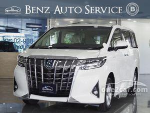 2019 Toyota Alphard 2.5 (ปี 15-18) HYBRID E-Four Van AT