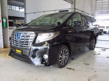 2017 Toyota Alphard (ปี 15-18) HYBRID G F-Package E-Four 2.5 AT Van