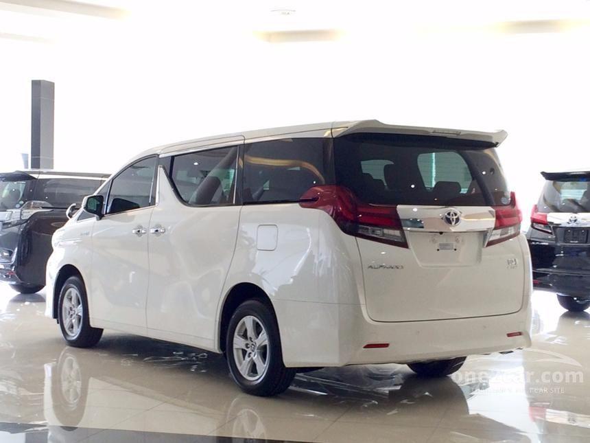 2017 Toyota ALPHARD HYBRID SR C Package E-Four Van