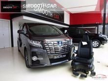 2016 Toyota Alphard (ปี 15-18) HYBRID SR E-Four Welcab 2.5 AT Van