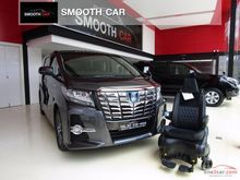 2017 Toyota Alphard (ปี 15-18) HYBRID SR E-Four Welcab 2.5 AT Van