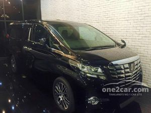 2017 Toyota Alphard (ปี 15-18) S A-Package Type Black 2.5 AT Van