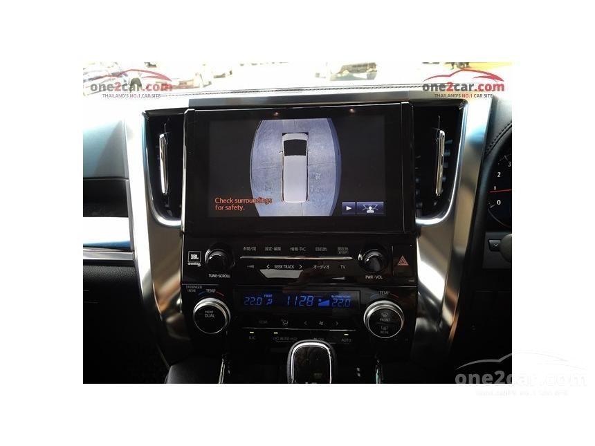 2016 Toyota Alphard S C-Package Van