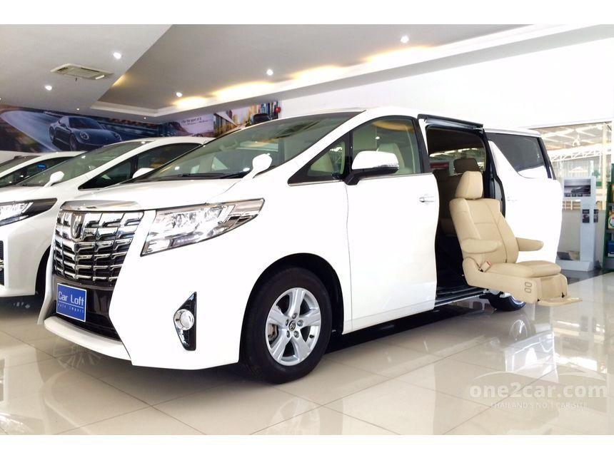 2016 Toyota Alphard Welcab Van