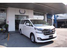 2017 Toyota Vellfire (ปี 15-18) E-Four Hybrid 2.5 AT Van