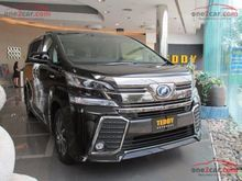 2017 Toyota Vellfire (ปี 15-18) E-Four Hybrid 2.5 AT Van
