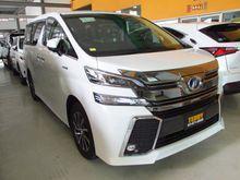 2017 Toyota VELLFIRE (ปี 15-18) E-Four Hybrid 2.5 AT Wagon