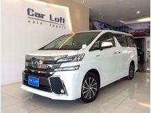 2017 Toyota Vellfire (ปี 15-18) Hybrid E-Four 2.5 AT Van