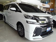 2017 Toyota Vellfire (ปี 15-18) V 2.5 AT Van