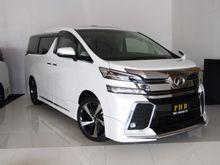 2017 Toyota Vellfire 2.5 AT Van
