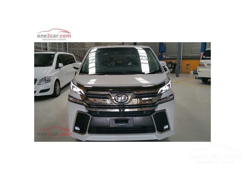 2017 Toyota Vellfire Z G EDITION Van