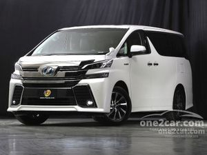 2018 Toyota Vellfire 2.5 (ปี 15-18) Z G EDITION Van AT