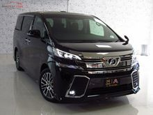 2017 Toyota Vellfire (ปี 15-18) Z G EDITION 2.5 AT Van
