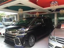 2016 Toyota Vellfire (ปี 15-18) Z G EDITION 2.5 AT Van