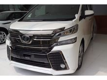 2017 Toyota Vellfire (ปี 15-18) ZA EDITION GOLDEN EYES 2.5 AT Van