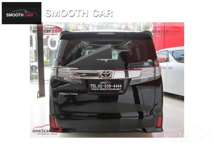 2016 Toyota Vellfire ZA EDITION Van